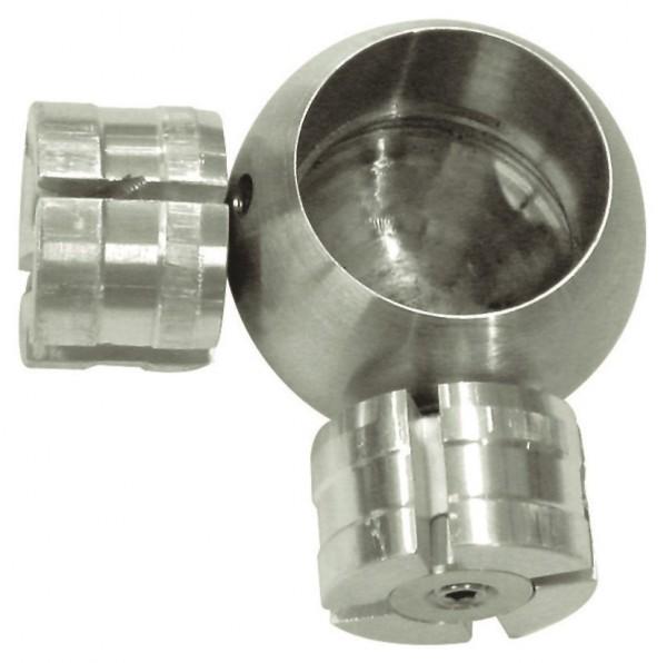 Kugel 3D-Verbindung V2A geschliffen für Rohr ø42,4