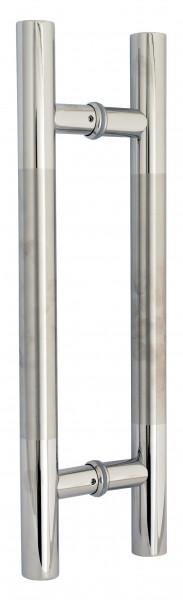 Stossgriffe für Glastüren, Edelstahl V2A, L 1300mm
