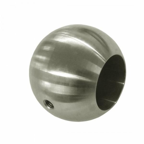 Kugel ø20mm Sackloch 8,2, Vollmaterial, V2A