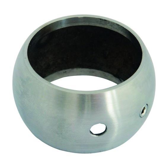 Kugelring, V2A Edelstahl, für Rohr 33,7mm,