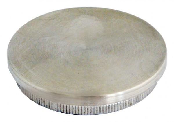 Einschlag-Kappen-V2A massiv, f.Rohr 33,7/2,0mm