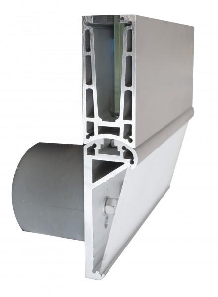 MonoTwin MT22 U-Profil 137x60mm, Alu eloxiert