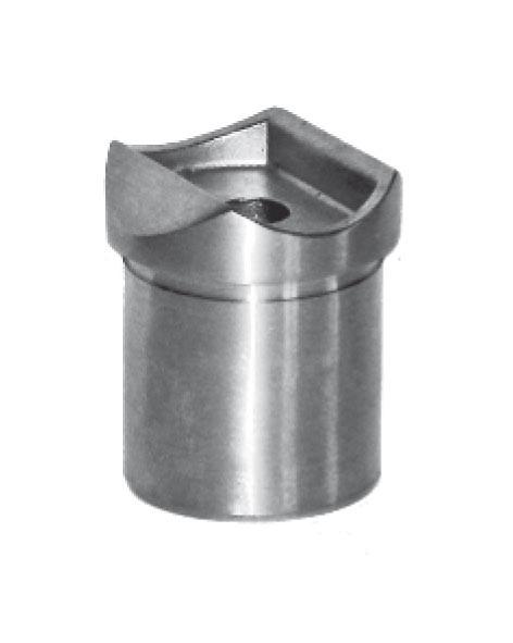 Aufsatz V2A, f.Rohr 33,7/2mm, Aisi 304