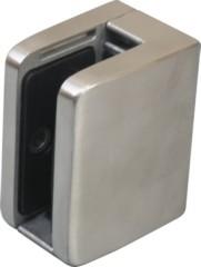 Glashalter V4A,Größe 52/52mm,mit Sicherungsplatte,