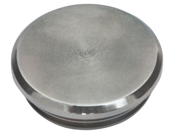 Einschlag-Kappe V2 A, f.Rohre 33,7/2 bis 1,7mm