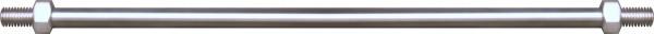 Zugstangen für Glasvordächer, ø 12mm,L=1500mm,V2A