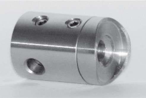 Traversenhalter für Seile mit ø 4-6mm,27/18mm