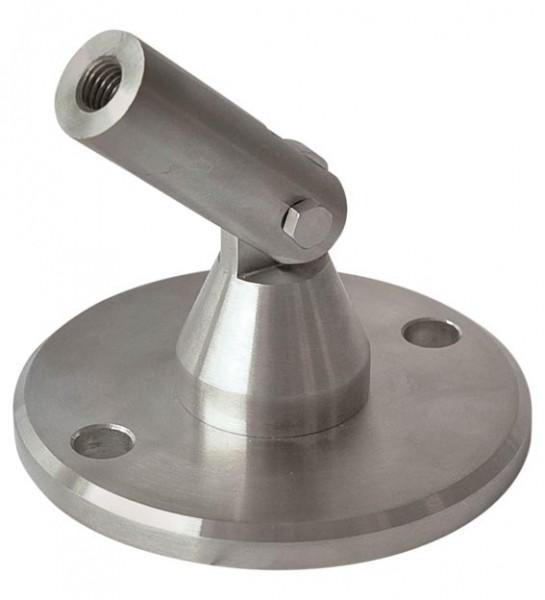 Anschraubplatte,Platte ø 120mm, 10mm stark,M12