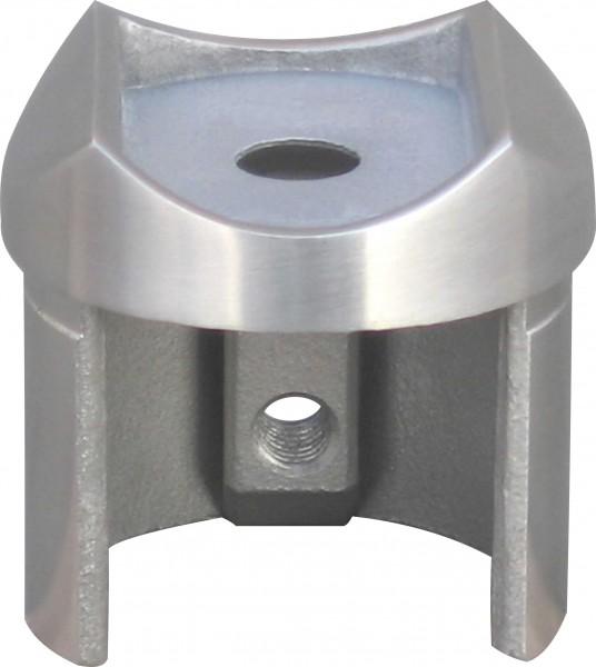 Aufsatz für Nutrohr V2A für Nutrohr 42,4x1,5mm