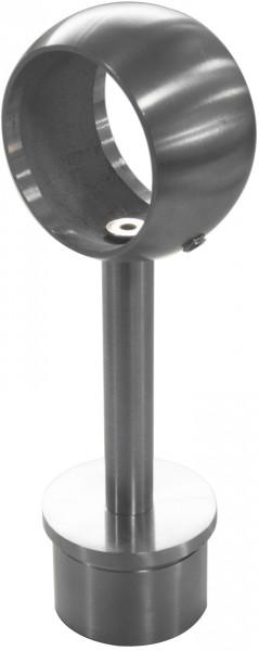Rohraufsatz Edelstahl V2 A, starr, f.Handlauf 42,4
