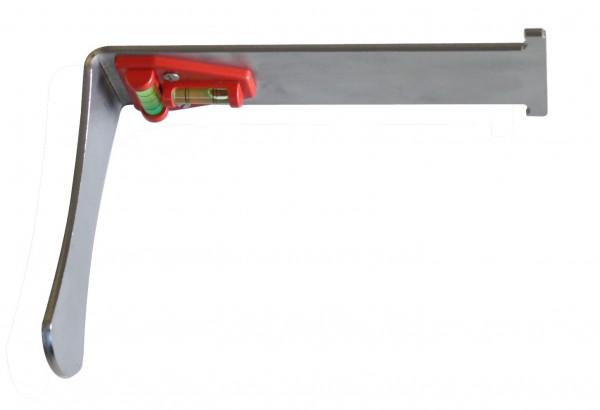 Montagewerkzeug für Glas-Twin mit Wasserwaage