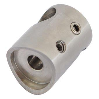 Traversenhalter V2A, 30/22mm, f.Rohr 48,3mm