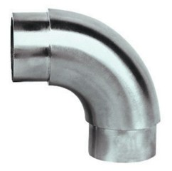 Rohr-Verbinder 90° rund V2A f.Rohr 48,3 / 2mm