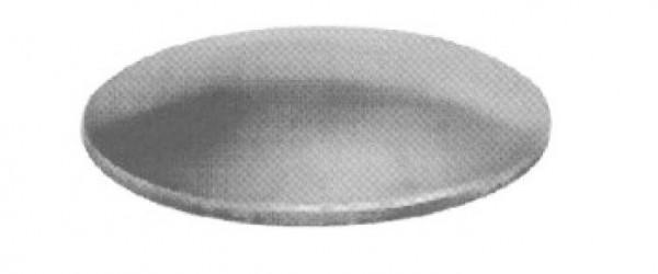 Anschweißkappe ø42,4x3mm, Eisen roh