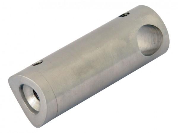 Traversenhalter V2A, ø 12mm (Loch), f.Rohr 42,4mm