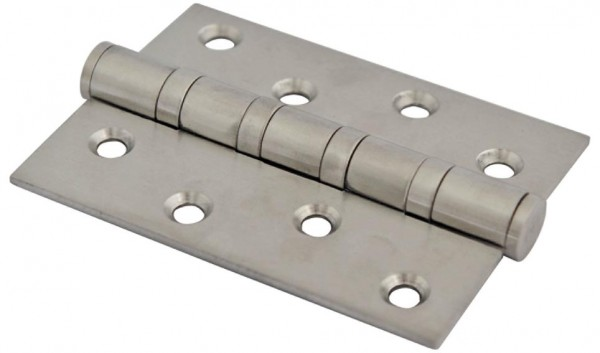 Scharniere für Holztüren, Edelstahl V2 A,102x76mm