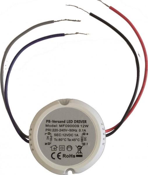 Dosentrafo ø50 12/220V für LED-Set