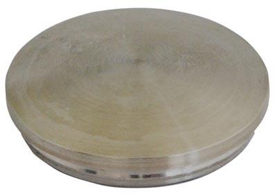 Einschlag-Kappe V4 A, 42,4/2mm, massiv,