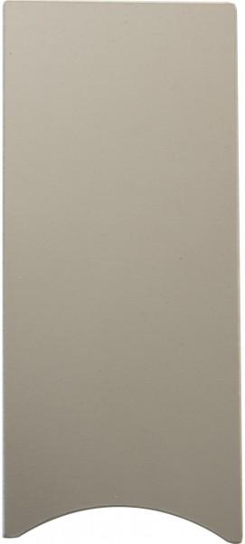 Abschluß U-Profil 137x60mm Aluminium eloxiert