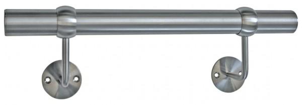Handlauf m.Träger,Stangenlänge 1000mm,ø ca. 42,4mm