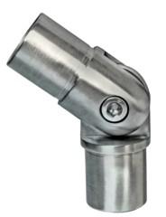 Rohr-Verbinder(Gelenk)V2A f. Rohr 48,3/2mm,Aisi304