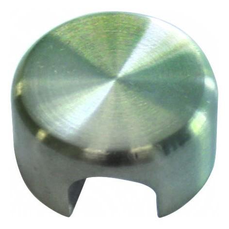 Klemmhalter ø25mm, M6, V2A geschliffen