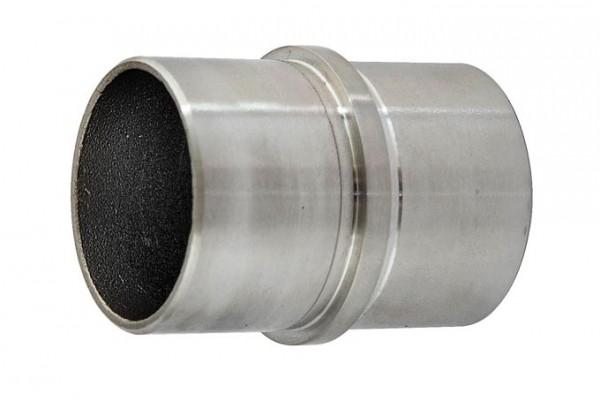 Rohrverbinder mit Ring V4A f. Rohr 42,4/2,0mm