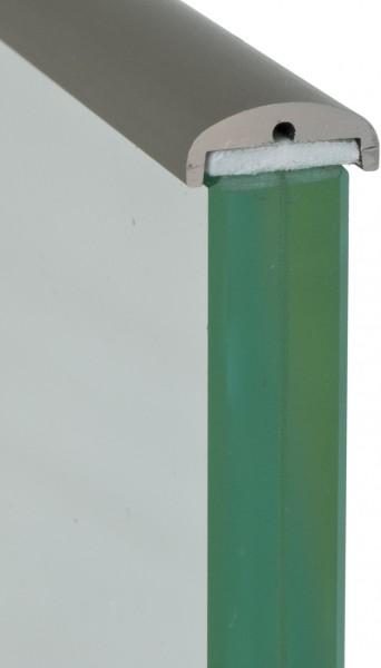 Kantenschutzprofil für VSG 13,52mm