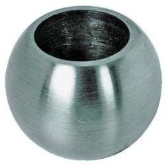 Kugel ø25mm Sackloch 14,2, Vollmaterial, V2A