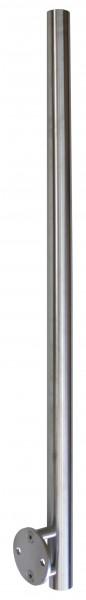 Pfosten Edelstahl ø42,4/2,0 x 1070mm seitl.Montage