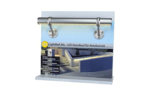Muster LED-Handlaufset Alu eloxiert 400mm