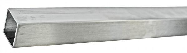 Rohr Vierkant, 40 / 40 / 2mm, Länge 3,0 Meter