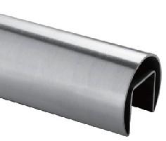 Muster Nutrohr ø42,4mm V2A 200mm, ohne Endkappe