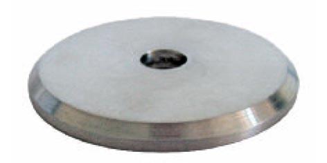 Ronden 50/5mm V2A-Laserschnitt, Mittelloch 10mm