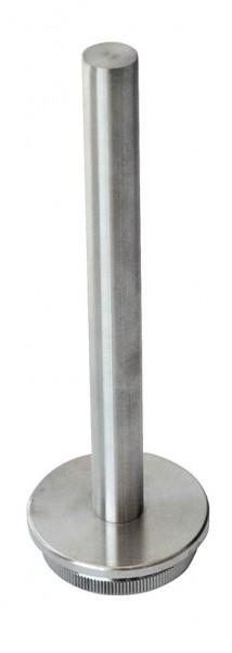 Rohraufsatz, V2A, für Rohr 42,4/3mm,Länge 120mm,