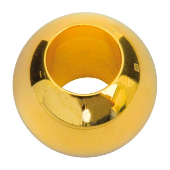 Kugel Messing, Vollmaterial, vergoldet, ø 30mm