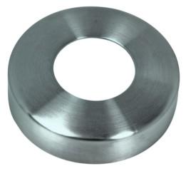 Rosette, runde Ausf./geschl. für 33,7mm, 85x16mm
