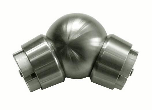 Kugel-Gelenk ø60,V2A geschliffen inkl. Ringadapter