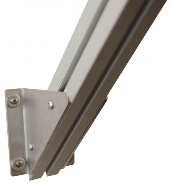 Wandstütze 45° für Podest Außentreppe AluFlex