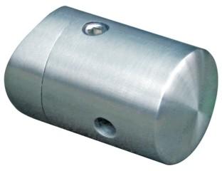 Traversenhalter,V2A,33,7mm,für Seile 4-8mm,26/18mm