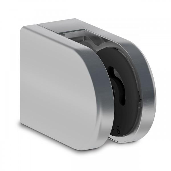 UniFix Glashalter 65x45mm, Ansatz flach, V4A