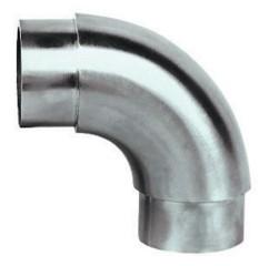 Rohr-Verbinder (halbrund), V2A, für Rohr 42,4mm,