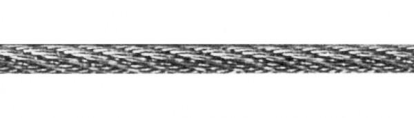 Edelstahl-Seil V4A, 4mm stark, Länge 10 Meter,