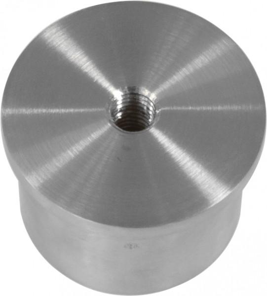 Kappe V2 A, für Rohr 42,4mm, Gewinde M8