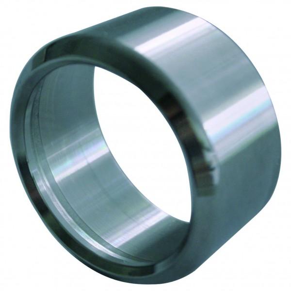 Ringadapter V2A geschliffen für Metall- und