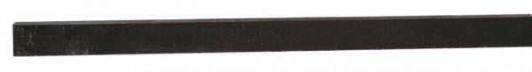 PVC-Kunststoffleiste schwarz 24x10mm ohne Bohrung