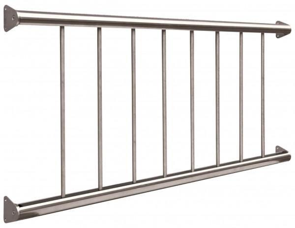 Fenstergitter 1200x500mm Edelstahl V2A