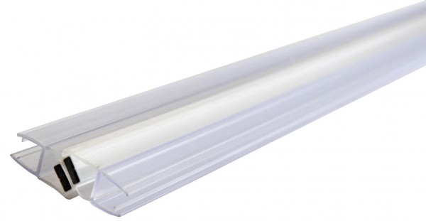 PVC-Dichtung Glas/Glas,f.8mm Glas,Stangenl.2Meter