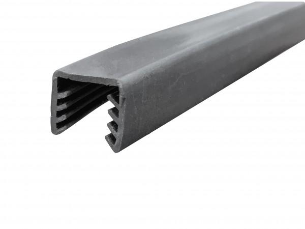 Gummi-Einsatz für U-Profil 24x24 + Rohr ø42,4mm