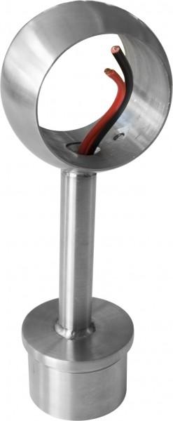 Rohraufsatz ø42,4mm mit Kugelring V2A